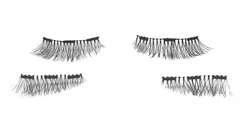 Magnetic Lashes with Three Magnets
