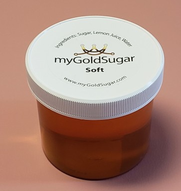 18 oz SOFT Sugaring Paste/Wax (for advanced users, not for beginners, fine hair, cooler parts of body, peach fuzz)