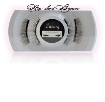Style 17L lash view Brown Extra Short (10mm)