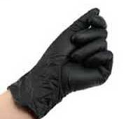 Black Nitrile Gloves for Sugaring