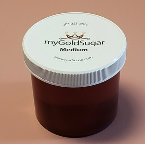 16 oz MEDIUM Sugaring Paste/Wax (multi-purpose, fine hair, medium cool parts of body, Brazilian, bikini, underarms)