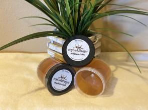 18 oz MEDIUM-SOFT Sugaring Paste/Wax (fine hair, medium cool to cool parts of body, facial hair, peach fuzz, chin)