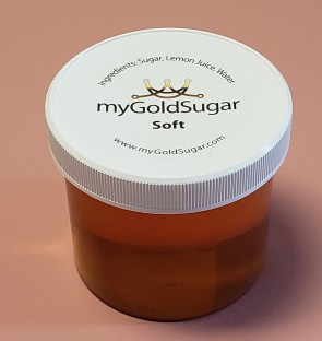 16 oz SOFT Sugaring Paste/Wax (for advanced users, not for beginners, fine hair, cooler parts of body, peach fuzz)