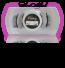 Style #1SC - BLACK Short 13mm length / 3/4 2 magnet lash