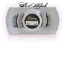 Style #1C - BLACK Short 13mm length / 3/4 2 magnet lash