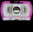 Style #3C - BROWN Short 13mm length / 3/4 2 magnet lash